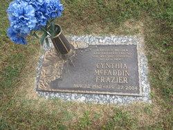 Cynthia <I>McFaddin</I> Frazier