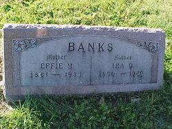 Effie Mae <I>Gleason</I> Banks