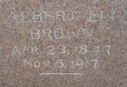 Albert Eli Brown