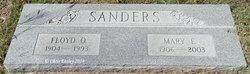 Mary Elmyra <I>Bowers</I> Sanders