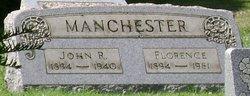 Florence <I>Spencer</I> Manchester