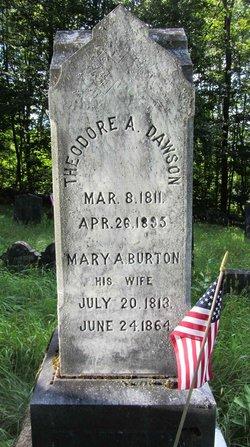 Mary Ann <I>Burton</I> Dawson
