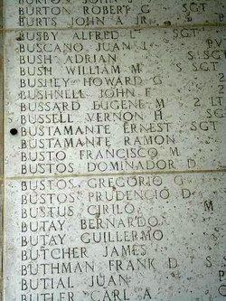 SSgt William M Bush