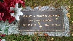 Daisy A. <I>Ayers</I> Brown Adams