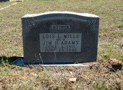 Lois L <I>Mills</I> Adams
