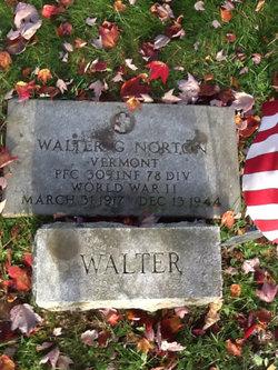 PFC Walter Gideon Norton