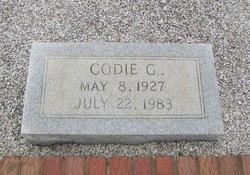 Codie <I>George</I> Thompson