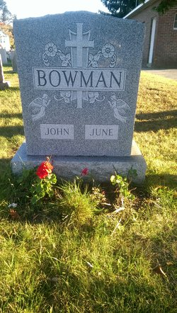 June Mary <I>Cole</I> Bowman