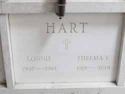 Thelma E Hart