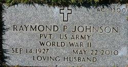 Raymond P Johnson