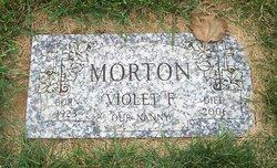 Violet Fay <I>Shrum</I> Morton