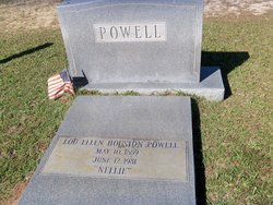 "Lou Ellen ""Nellie"" <I>Houston</I> Powell"