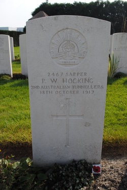 Sapper P W Hocking
