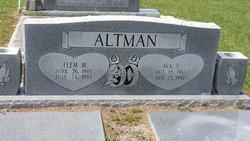 Ava <I>Shuman</I> Altman