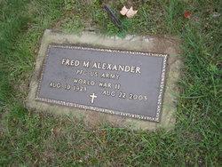 Fred Mack Alexander