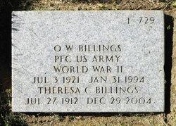 Orville Wayne Billings