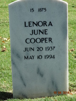 Lenora June Cooper