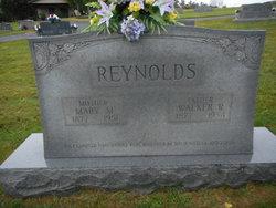 Mary Mildred <I>Jones</I> Reynolds