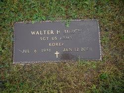 Walter H Burch