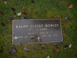 Ralph Elbert Bowles