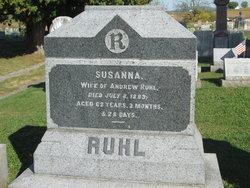 Susanna <I>Gebbart</I> Ruhl