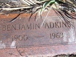 """Benjamin Owen """"Ben"""" Adkins"""