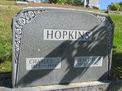 Wealtha R. <I>Gage</I> Hopkins