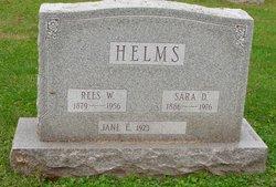 Sara <I>Dague</I> Helms