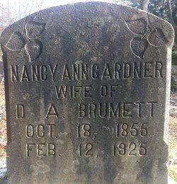 Nancy Ann <I>Gardner</I> Brumett