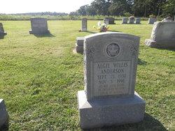 Algie Willis Anderson