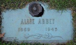 Allie Maude <I>Friend</I> Abbey