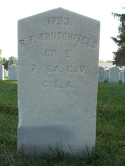 Pvt R F Crutchfield
