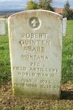 Robert Quinten Abarr
