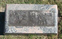 Donald Ray Sherow