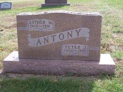 Esther Margaret <I>Streff</I> Antony