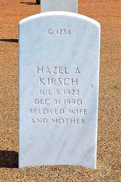 Hazel A Kirsch
