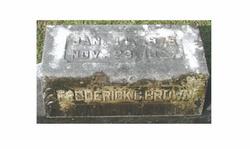 Frederick Carl Brown