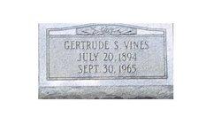 Gertrude <I>Sturdivant</I> Vines