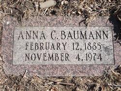 Anna <I>Carlson</I> Baumann