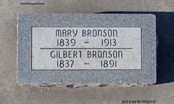 Mary <I>Olson</I> Bronson