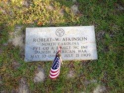 Pvt Robert W Atkinson