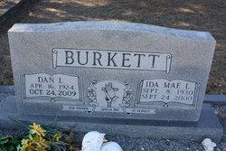 Ida Mae <I>Lowe</I> Burkett