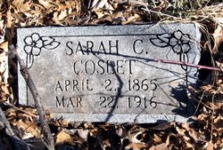 "Sarah Catherine ""Sadie"" <I>Jarvis</I> Coslet"