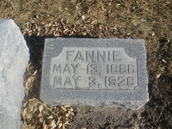 """Elizabeth Frances """"Fannie"""" <I>Pittman</I> Martin"""