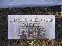 Charles Alexander Sanders