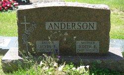 Edith E. <I>Eckstrom</I> Anderson