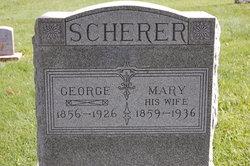 Mary <I>Donner</I> Scherer