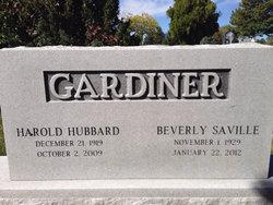 Beverly <I>Saville</I> Gardiner