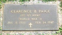 PFC Clarence Bascom Paige