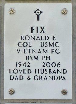 COL Ronald Eugene Fix